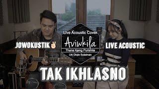 Download Lagu TAK IKHLASNO - HAPPY ASMARA (Live Acoustic Cover by Aviwkila) mp3