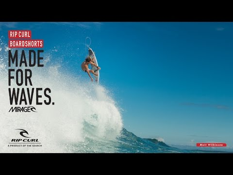 Matt Wilkinson - Mirage Blocker | Made For Waves | Boardshorts By Rip Curl