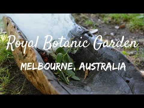 พาเที่ยว Royal Botanic Garden เมลเบิร์น | EXPLORE MELBOURNE | Racha Travels