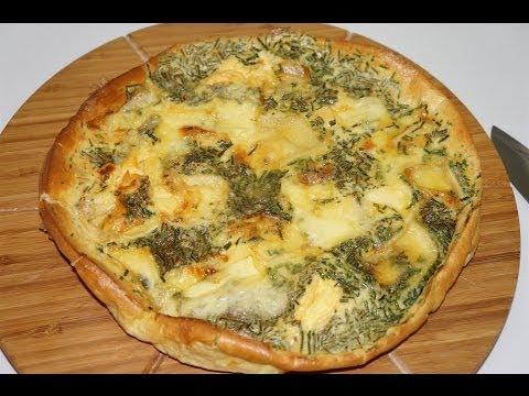 Galette fondante aux 3 fromages facile ( CUISINERAPIDE)