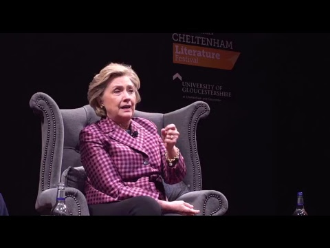 Hillary Rodham Clinton - Cheltenham Literature Festival 2017