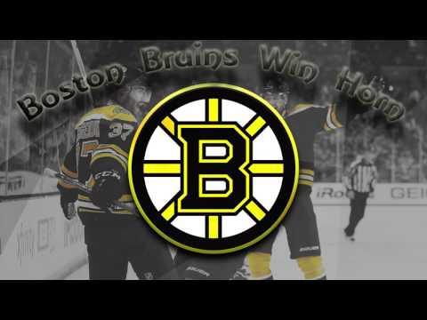 Boston Bruins Win Horn