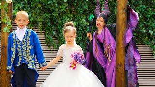 Maleficent failed the wedding. Свадьба испорчена!