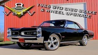 1966 Pontiac GTO Disc Brake Conversion, Wheel and Tire Upgrade Video V8TV