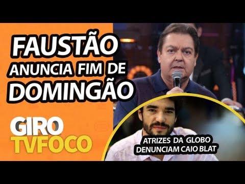 Faustão anuncia fim de Domingão na Globo