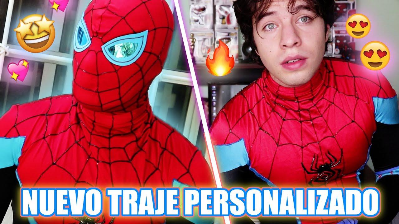MI NUEVO TRAJE PERSONALIZADO DE SPIDER-MAN | Emma Spider