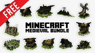 Minecraft - Epic Medieval Bundle 2.0 [ + Download ]
