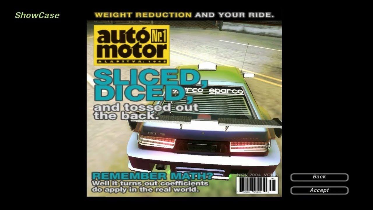 Need For Speed Underground 2 Walkthrough 190 Magazine Dvd