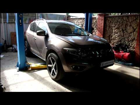 Замена насоса ГУР на Ниссан Мурано Z51 2010 года Nissan Murano