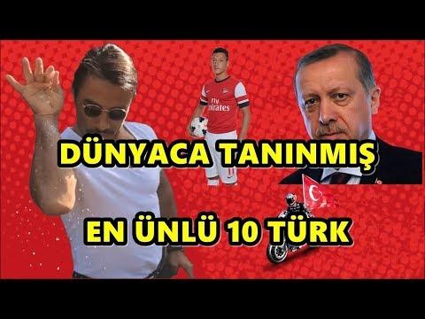 Dünyanın Tanıdığı En Ünlü 10 Türk Kimler Biliyormusunuz ?