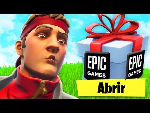 EPIC GAMES NOS DA ESTE REGALO EXCLUSIVO POR NAVIDAD EN FORTNITE