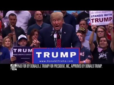 Donald Trump's first TV ad