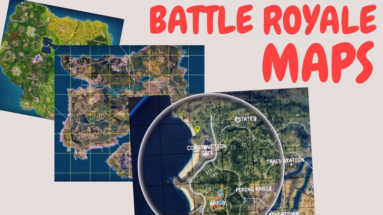 Battle Royale Game Maps Size Comparison How Big Is The Map