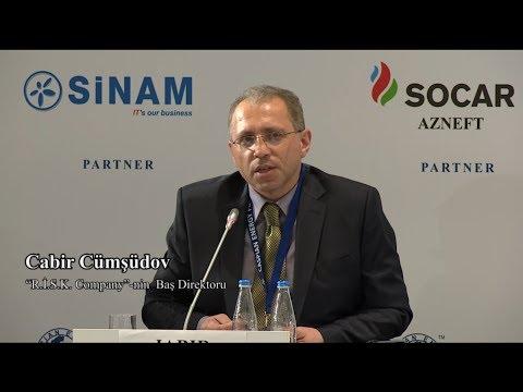 Cabir Cümşüdov - 4-th Caspian Energy Forum - Baku 2017