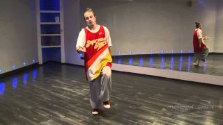 Илья Вяльцев - урок 1: видео уроки танца хаус (house dance)
