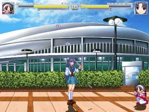 M.U.G.E.N Yuki Morikawa(me) VS Ryoko Asakura by yukimiti