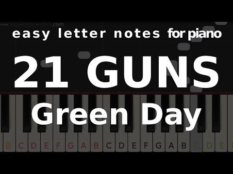 21 Guns – Green Day – tutorial