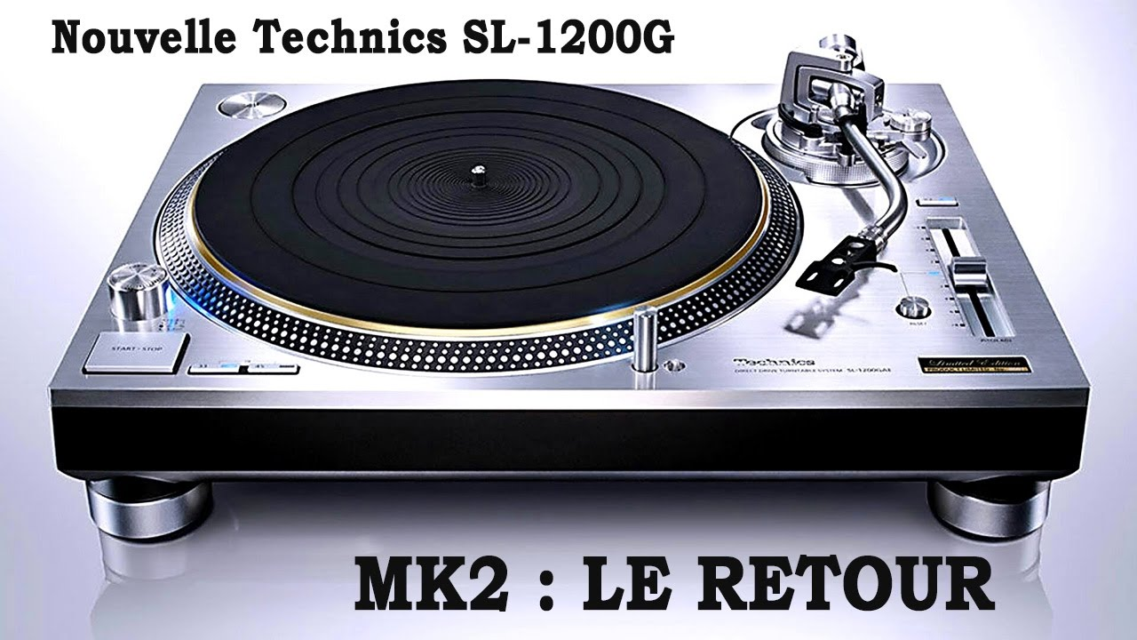 platine vinyle technics sl 1200 mk2. Black Bedroom Furniture Sets. Home Design Ideas