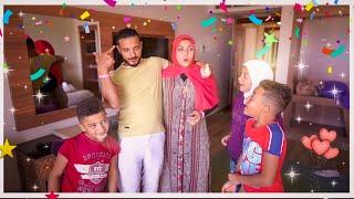مفاجأةعيد الزواج آكبر جناح فندقى في شرم الشيخ 🏰ماتوقعت ردة فعل العيلة