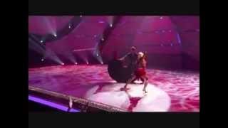 Iveta Lukosiute dancing with Pasha Ballroom