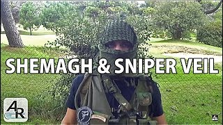 Shemagh & Sniper Veil - Airsoft Review Argentina