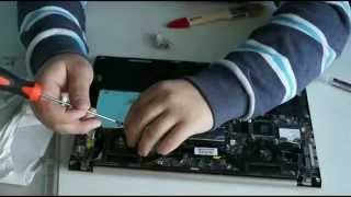 чистка ультрабука Asus UX32a! ;D