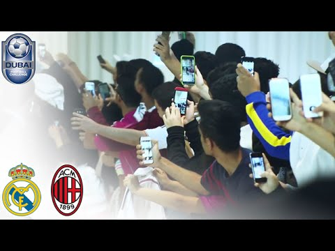 Real Madrid arrive in Dubai - #DubaiFC | Dubai Football Challenge