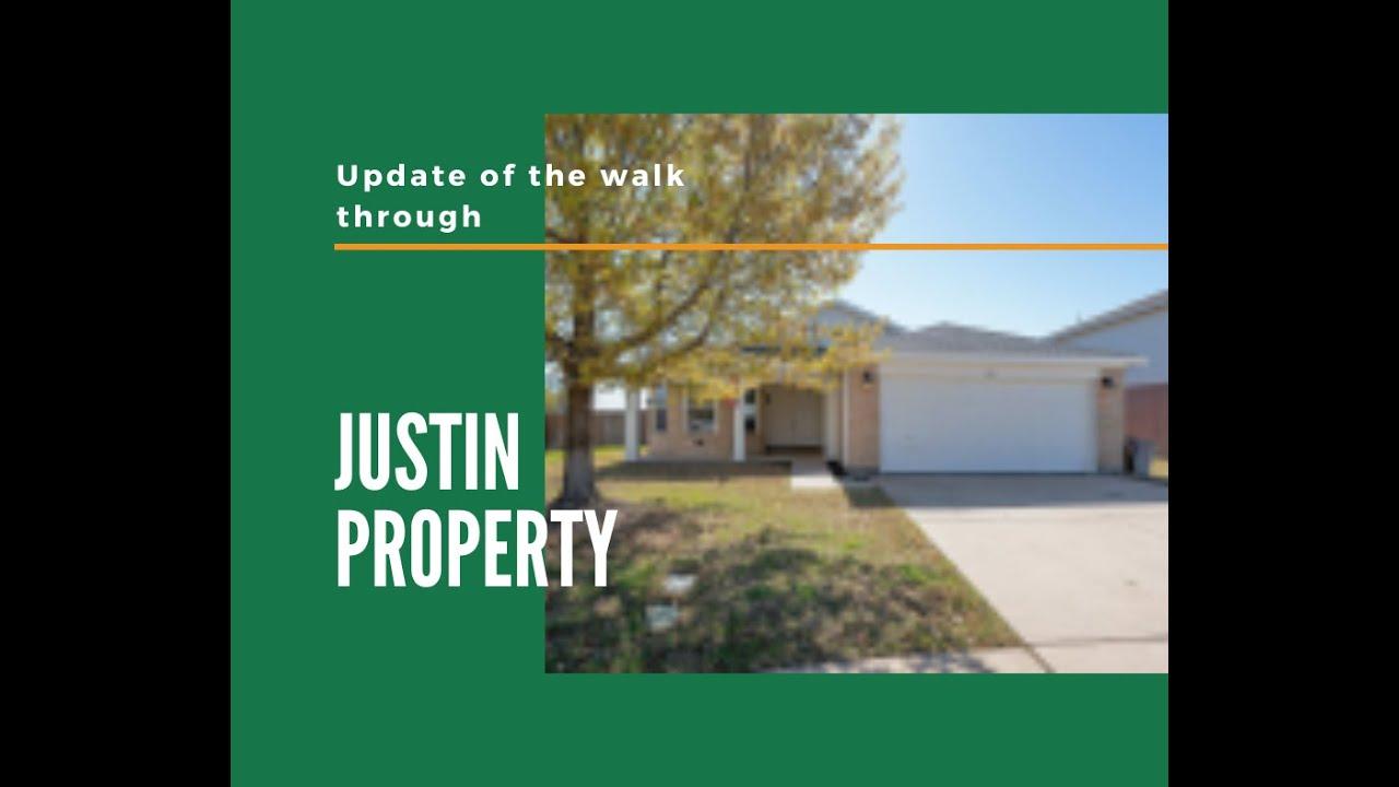 Hill REI Justin Property Update | Hill REI