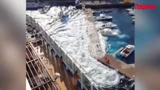 Italie: un paquebot détruit complètement une petite marina