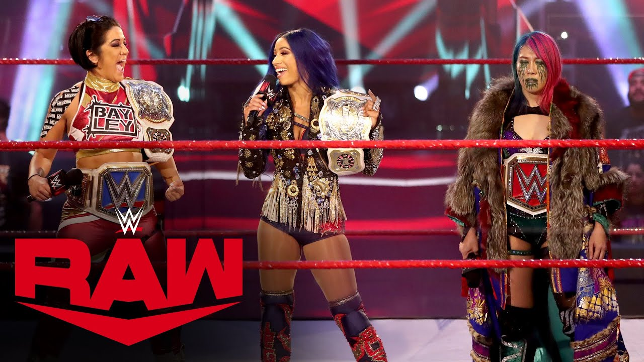Bayley & Sasha Banks interrupt Asuka: Raw, June 8, 2020