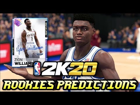 Nba 2k20 Myteam Rookie Ratings Predictions Ft Zion Williamson Ja Morant Rj Barrett