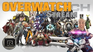 Overwatch    Streaming w/ Friends   PS4 Pro