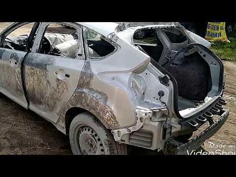 Перевёртыш.Форд Фокус кузовной ремонт восстановление и возвращение к жизни.