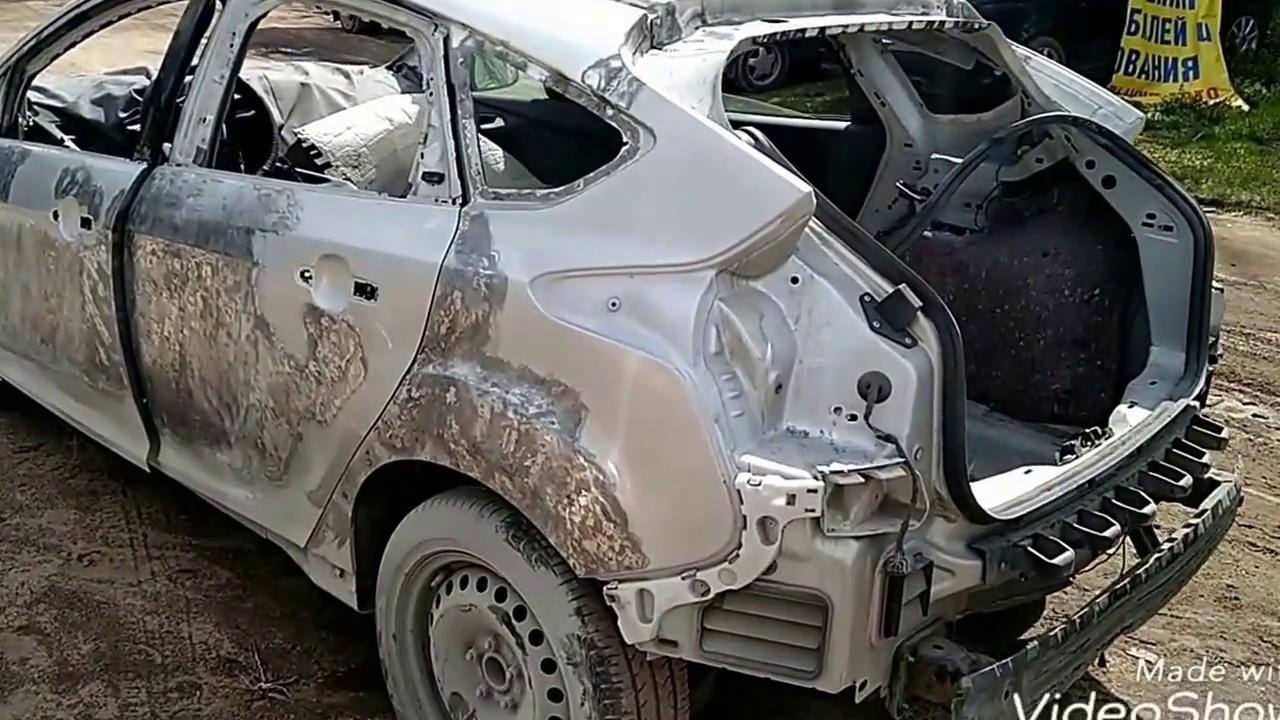 Форд Фокус кузовной ремонт восстановление и возвращение к жизни.