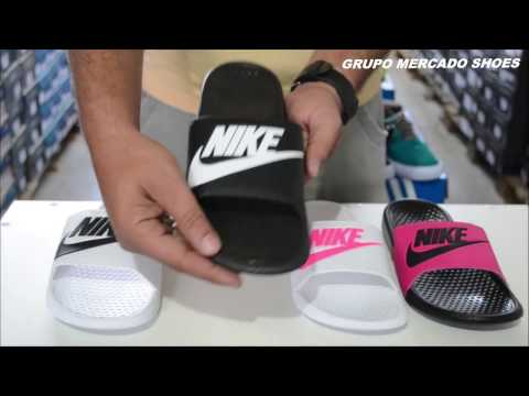 0c79746d48cd3 Chinelo Nike Benassi Solarsoft | Grupo Mercado Shoes - YouTube