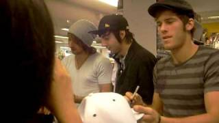 TALKING WITH ALL TIME LOW @ sweden