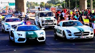 Dubai Police 2015 - The World's Best Police Cars - Dubai Police Supercars - DubaiTUBE
