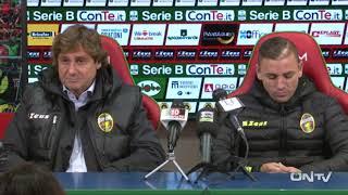 ONTV: Conferenza Ranucci e Tiscione post derby TERNANA U-PERUGIA (1-1)