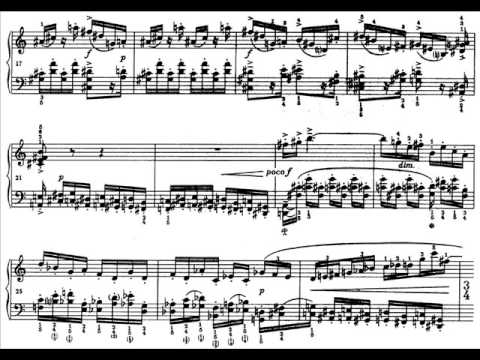 Lutoslawski - Two Studies for Piano