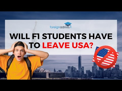 NEW IMMIGRATION RULE Proposed For F1 VISA Students! Will F1 Students have to Leave USA now? || FA