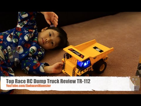 Top Race RC Dump Truck Review TR-112