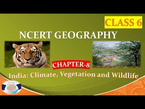 NCERT GEOGRAPHY CLASS 6  CHAPTER 8  INDIA CLIMATE VEGETATION WILDLIFE FOR UPSC IAS PREPATION,UPPCS