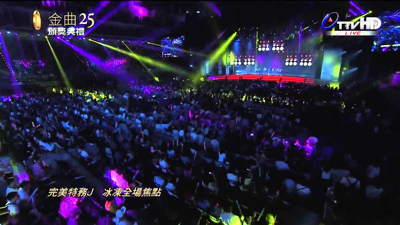 2014.06.28 第25屆金曲獎 蔡依林演唱成名組曲