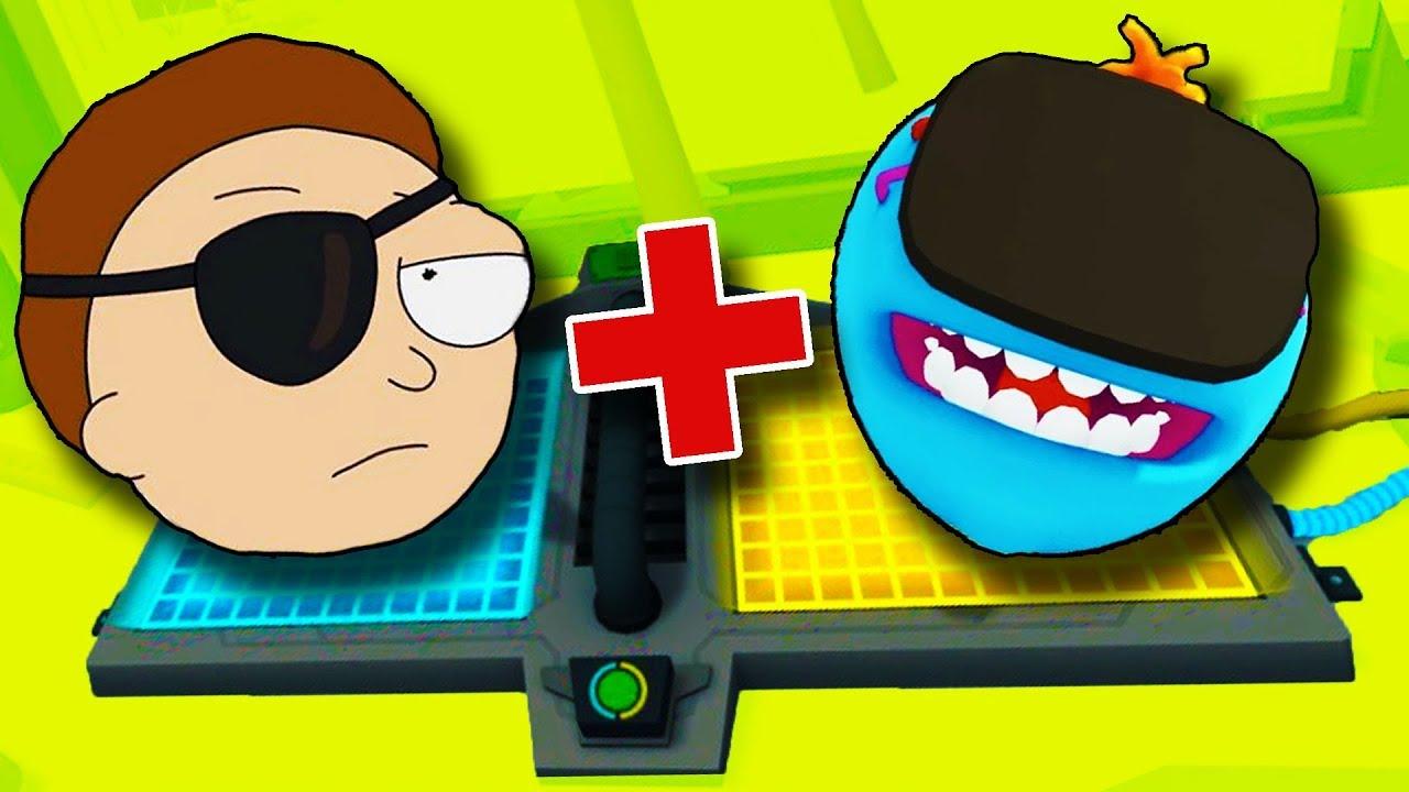 MEZCLANDO EL SEÑOR MEESEEKS CON TODO   Rick y Morty en Realidad Virtual