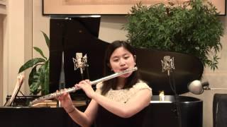 Opus 4 Studios: Hannah Ko, Flute - Allegro by J. B. Loeillet