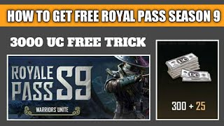 HOW TO GET ELITE ROYAL PASS SEASON 9 !! HOW TO GET 300 UC FREE PUBG MOBILE !! PUBG MOBILE FREE UC