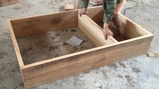 Amazing Woodworking Skills Easily And Creatively - How To Making Wall Shelves, DIY