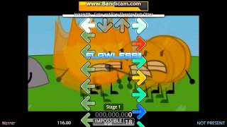 Coiny and Firey Slapping Each Other (Stepmania)