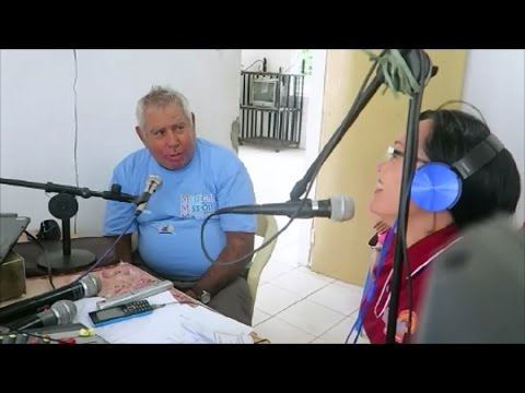 Radio Station Inverview ~ Hinoba-an Negros Island, Philippines ~ Medical Mission Matters