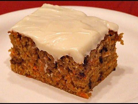 Американский/канадский морковный пирог